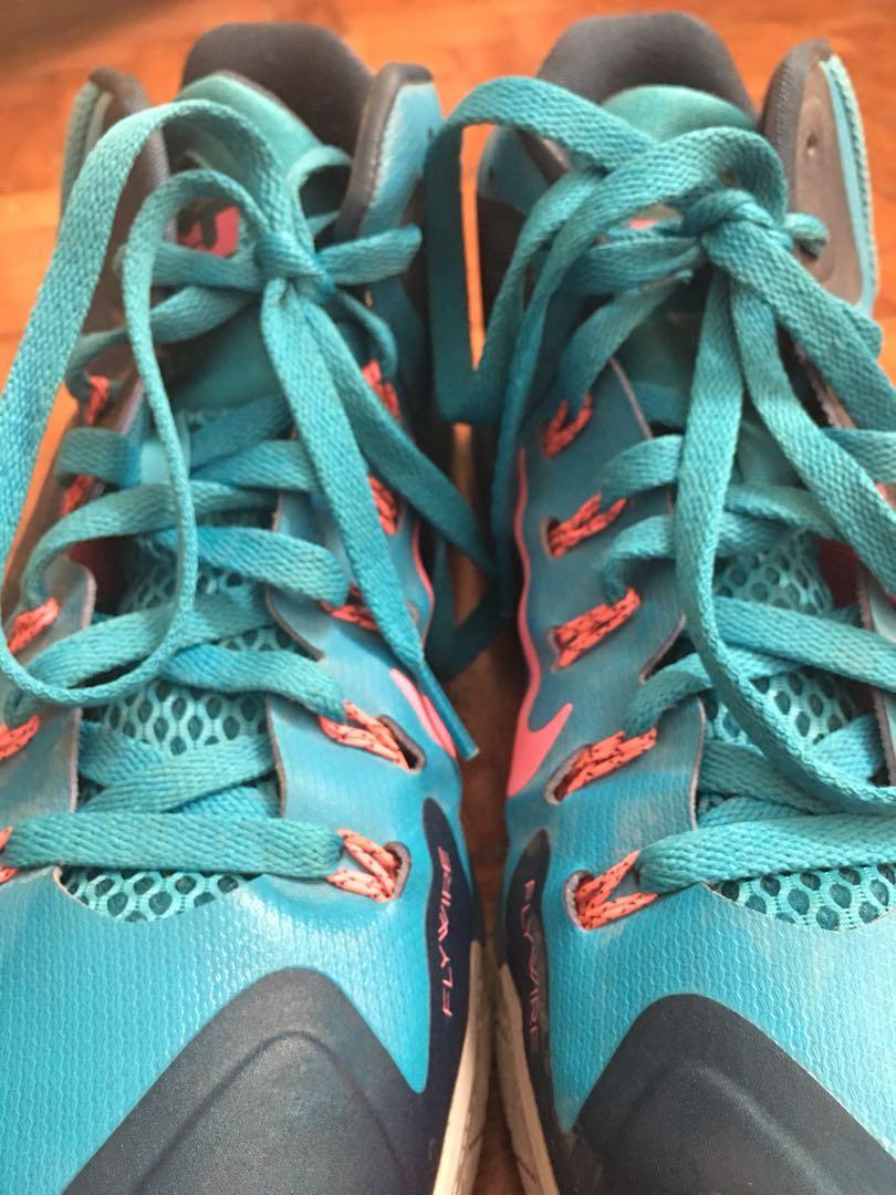 "best service f619c fd8c7 ... Lebron Nike Ambassador VII ""Blue Lagoon"", Men s Fashion, Footwear on  Carousell ..."
