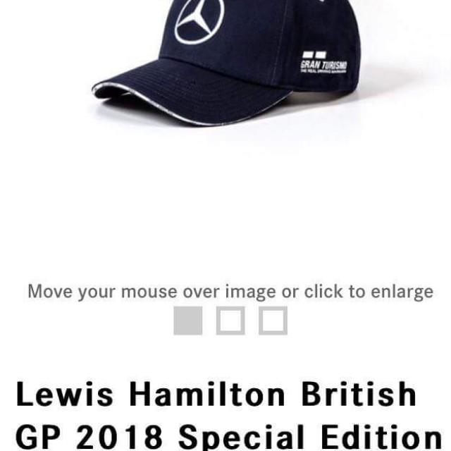 493d48748 Lewis Hamilton British GP 2018 Special Blue Cap Edition on Carousell