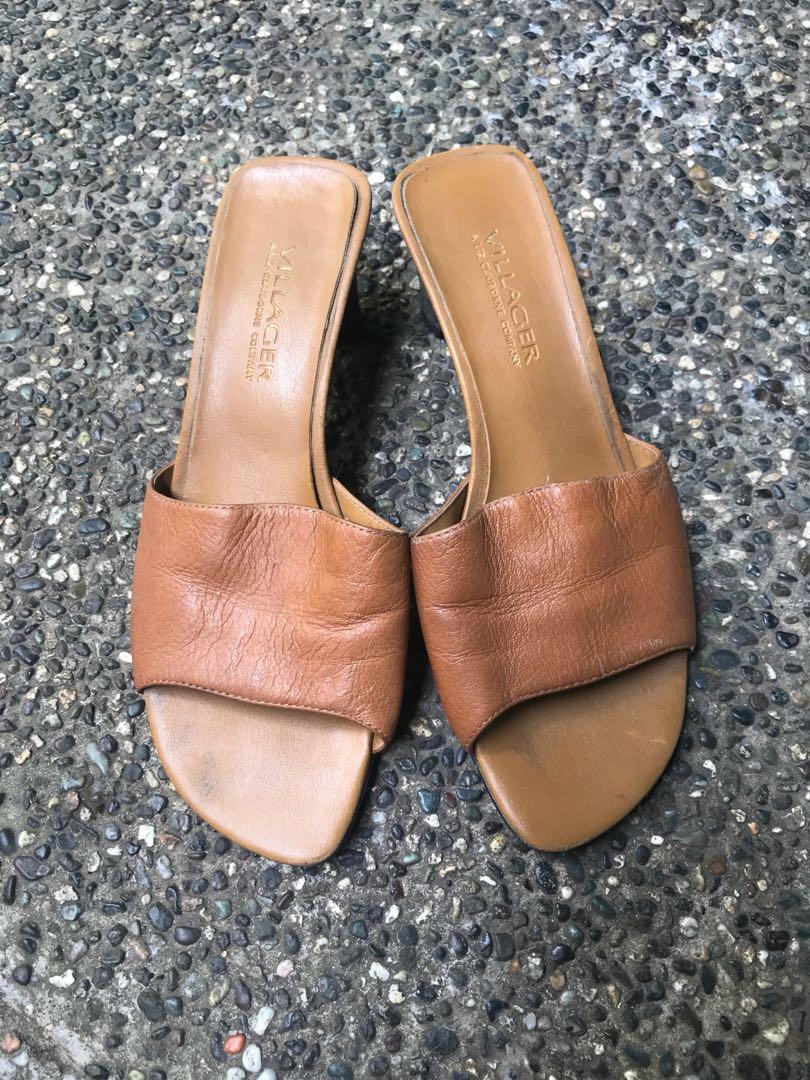 Liz Claiborne Leather Sandals, Women's