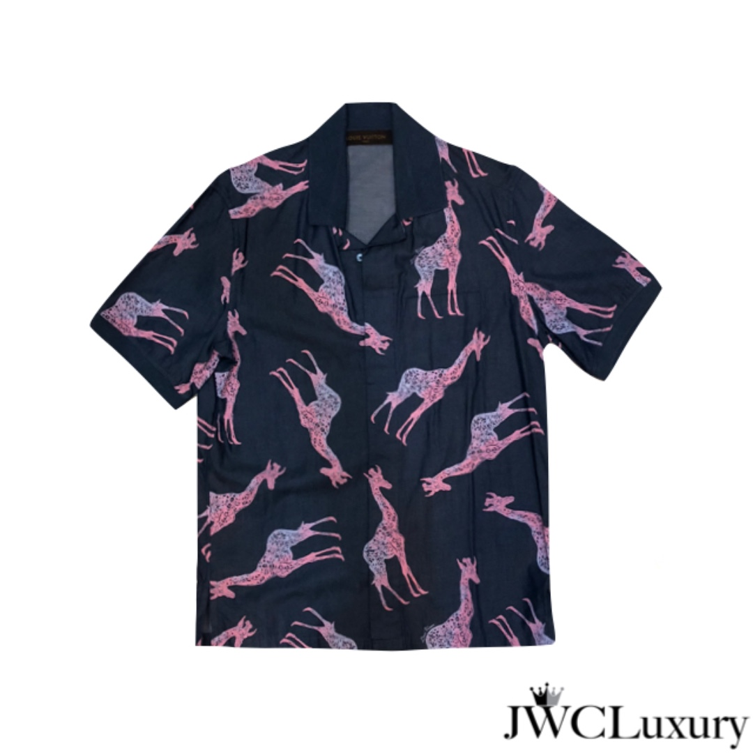 e18b390df957 Louis Vuitton Chapman Brothers Navy Shirt