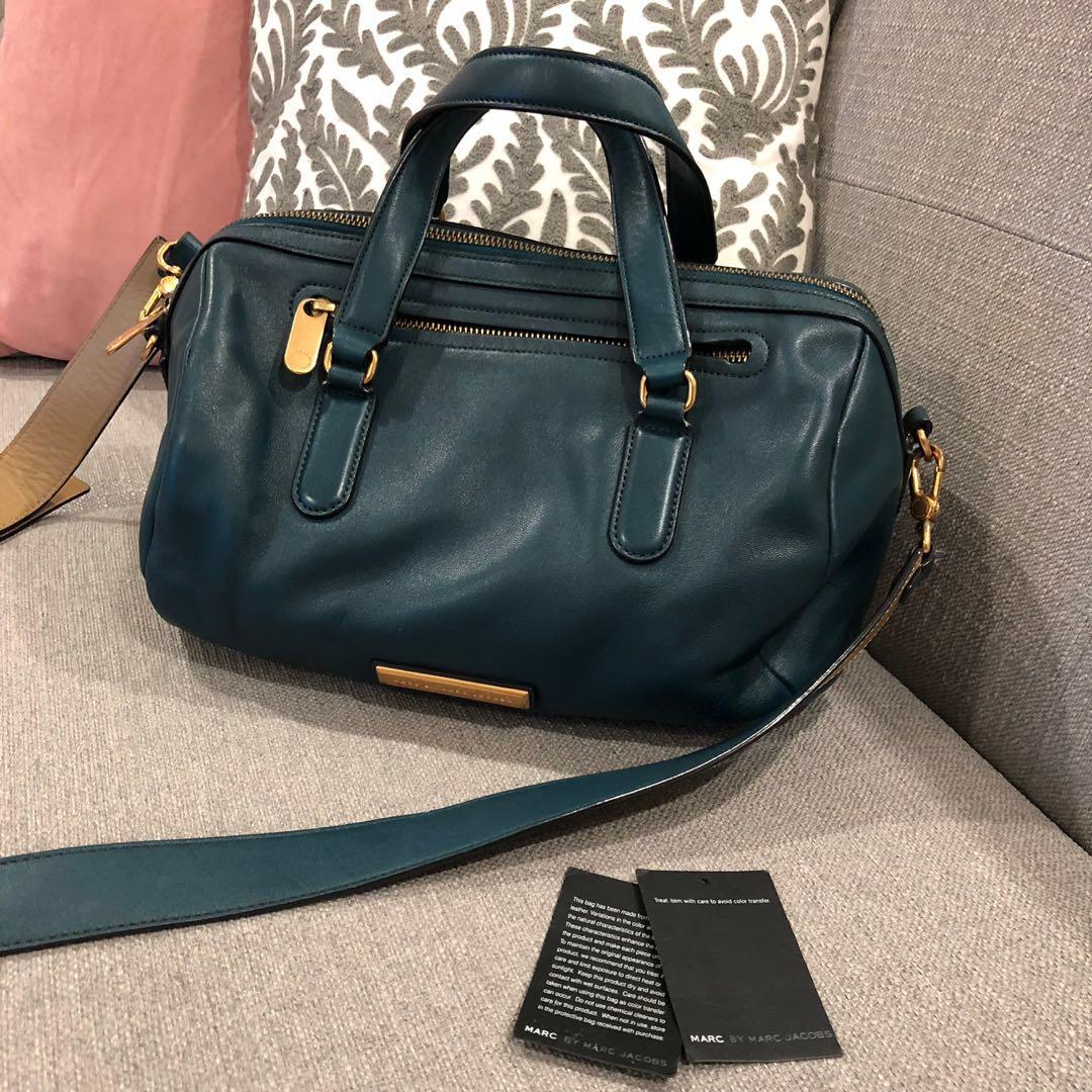 1961bdd07b Marc by Marc Jacobs Crossbody Bag TEAL (preloved), Women's Fashion ...