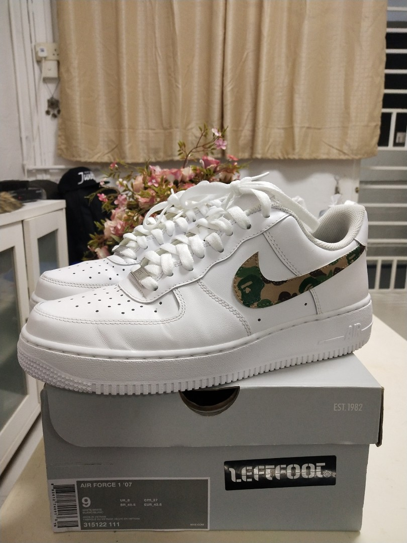 3b752468b5b7 Nike Af1 Bape Custom