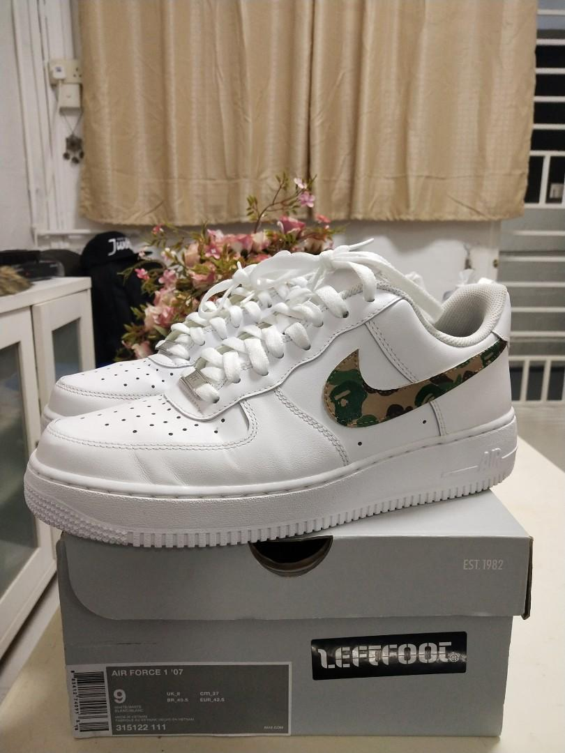 Details about Nike Air Force 1 Camo UK Size 10 EU Size 43