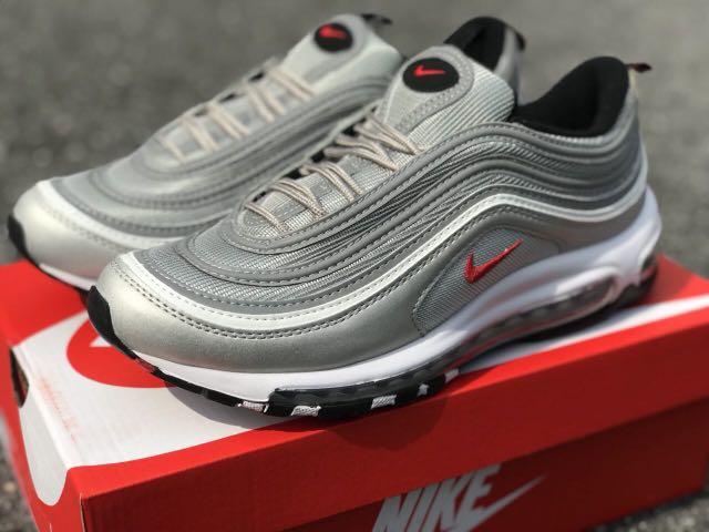 17ee7b6f60 Nike Air Max 97 Silver Bullet, Men's Fashion, Footwear, Sneakers on ...
