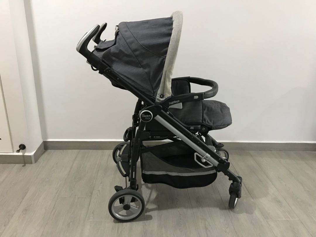 Peg Perego Switch Four Stroller Babies Kids Strollers Bags