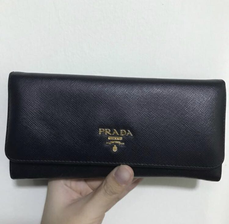 d62101807b0485 Prada Saffiano Leather Wallet, Luxury, Bags & Wallets, Wallets on ...