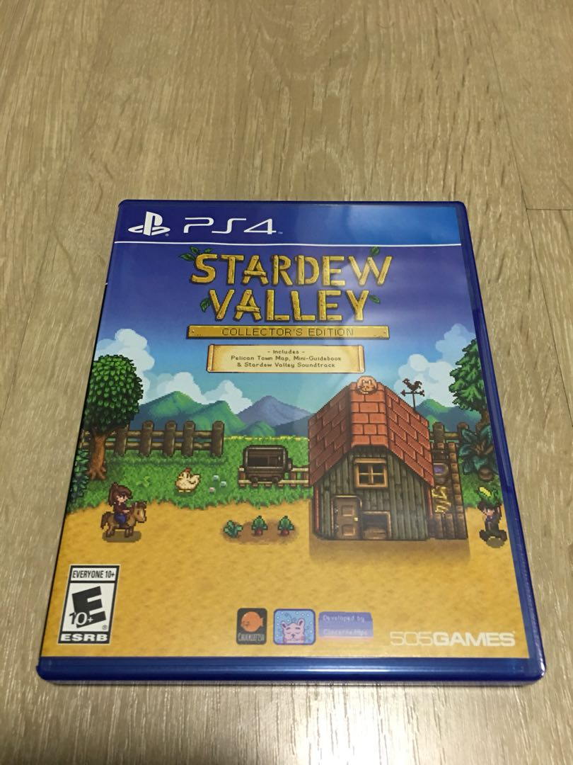 PS4 Stardew Valley - Collector's Edition, Toys & Games, Video Gaming, Video Games on Carousell