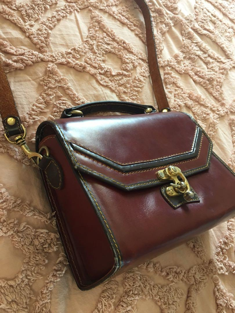 Retro Genuine Leather Multiwear Bag