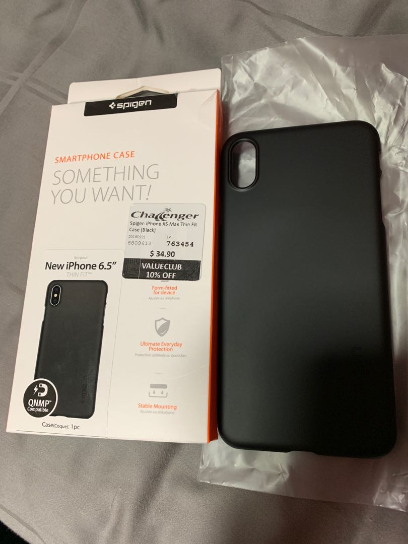 detailed look 546dc 9ef9a Spigen iPhone XS Max THIN FIT