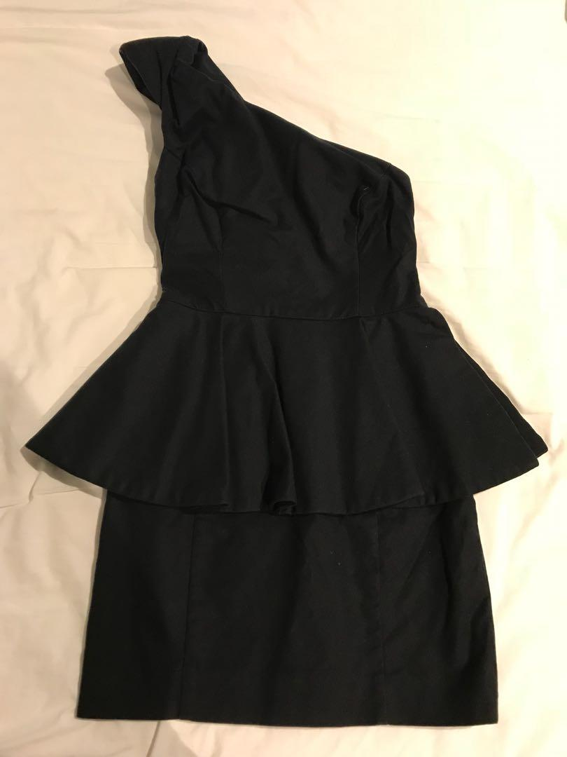 Sportsgirl cocktail party dress black size 6 - worn once