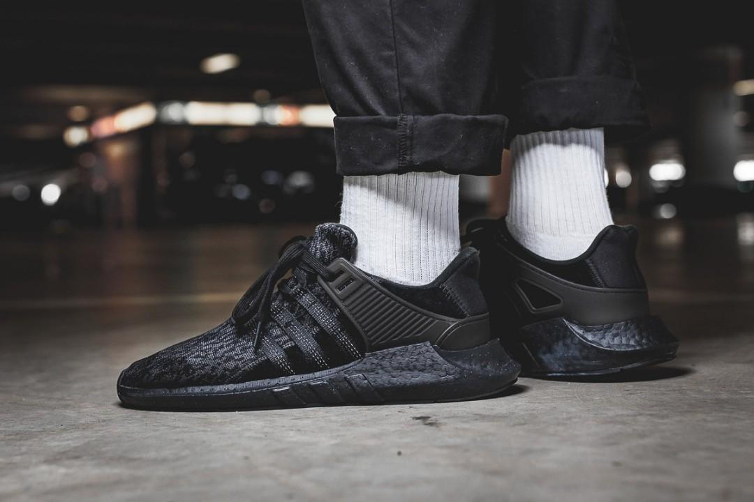 STEAL!* US9.5 Adidas EQT Support ADV Turbo Boost 'Triple