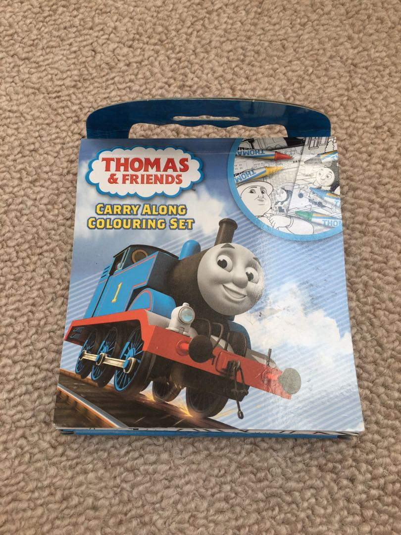Thomas and friends coloring book, Books & Stationery, Children\'s ...