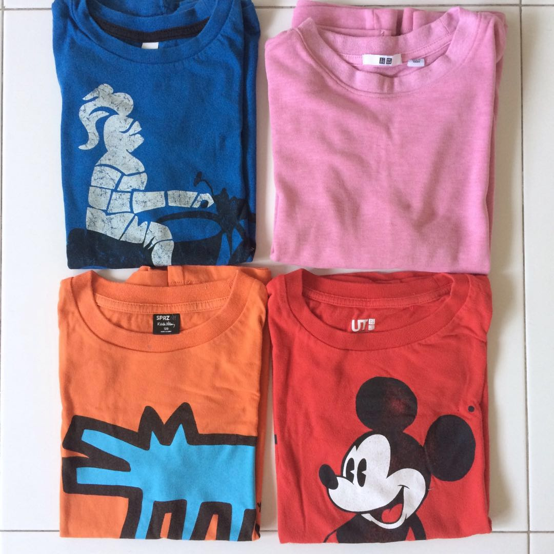 292b5b13c20 Uniqlo and Esprit T shirts for boy   girl