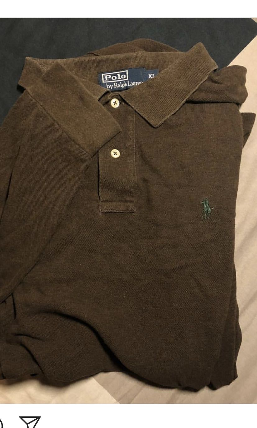 Vintage Polo Ralph Lauren Rugby Polo Long Sleeve f12e4f4f4