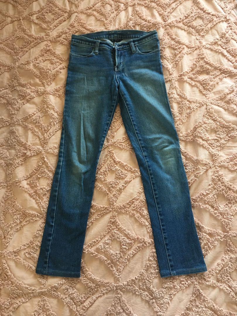 Womens Nobody Stretch Denim Jeans 25 7