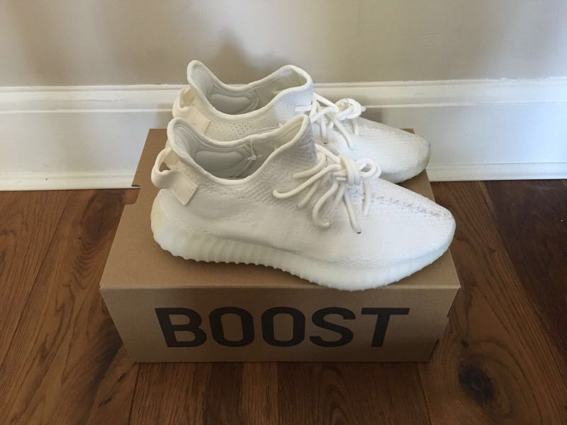 09c768b6b Yeezy Boost 350 V2 Cream White  size US 7