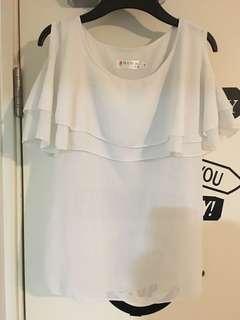 露膊雪紡衫