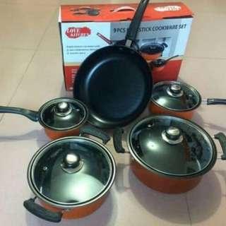 Non-Stick Cookware Set (9pcs.)
