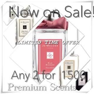 Jo Malone's 2 for 1500