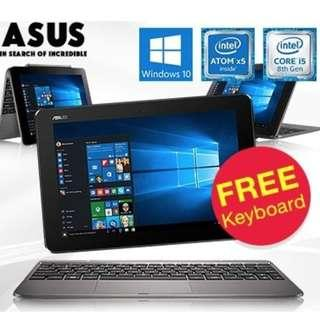 🚚 ASUS T101H 2GB RAM + 32GB EMC / Color Grey, Green or Pink
