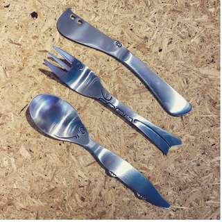 兒童不銹鋼餐具套裝 Stainless Steel Kids Cutlery Set