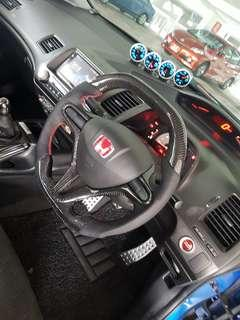 Carbon Steering for Civic FD