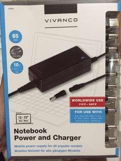 Notebook Power and Charger