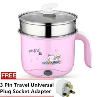 Multicooker pot with steamer 1.8L