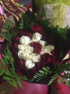 Bouquet Mawar 20pcs