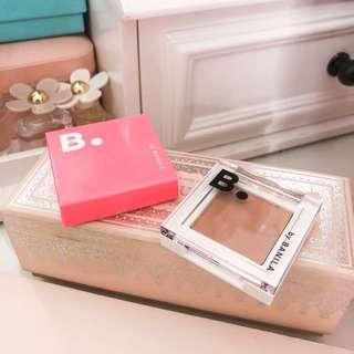 Banila co eyeshadow nude beige • nice crease color and mini bronzer shade • b by banila eye crush matte shadow • k beauty Korean makeup