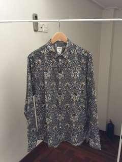 RM140 Morris & Co x H&M Floral Batik Print Shirt