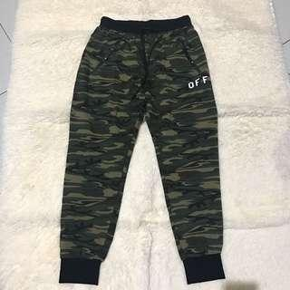 Off white army jogger