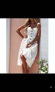 White Summer Beach Dress