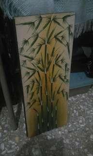 lukisan bambu