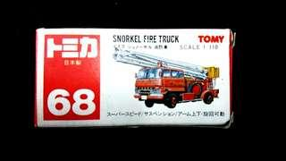 68 Tomy Made in Japan Snorkel Fire Truck Tomy 日本製絕版消防車