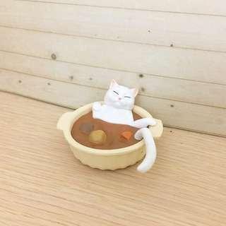 點心貓 咖哩貓 扭蛋 公仔 絕版 貓咪咖啡