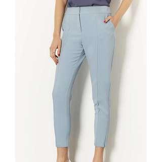 Topshop Light Blue Cigarette Trousers