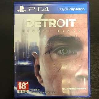 Detroit become human for ps4 pro