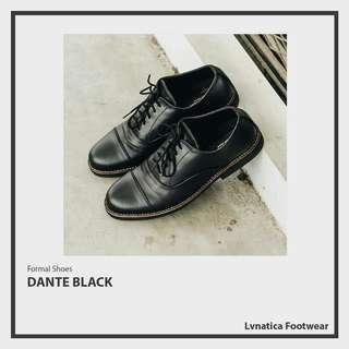 Lvnatica Footwear Dante Black Pantofel Formal Shoes
