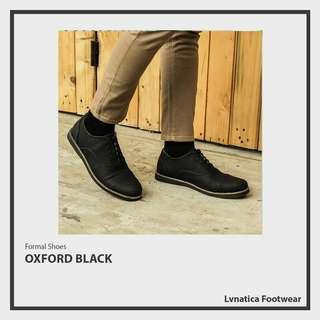 Lvnatica Footwear Oxford Black Pantofel Formal Shoes
