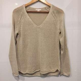 NEW! H&M Basic Dirty White Sweater