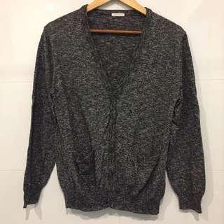 NEW! GU Grey Cardigan
