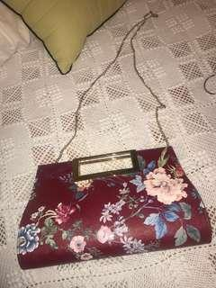 Cute floral purse/clutch