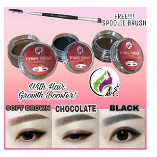 AE EYEBROW POMADE w/ Spoolie Brush 5 grams - Chocolate