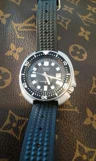 精工經典中古潛水6105