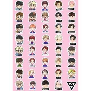 [PO] seventeen character stickers