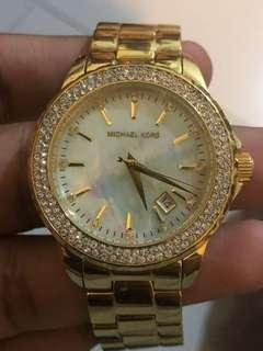 Michael Kors Authentic Plated limited edition watch