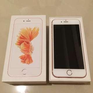 🚚 iPhone6s 64g 玫瑰金 9成新