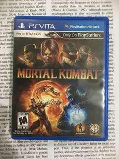 Mortal Kombat for vita