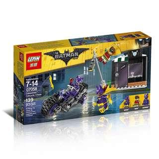 LEPIN™ 07058 Batman Movie Catwoman Catcycle Chase